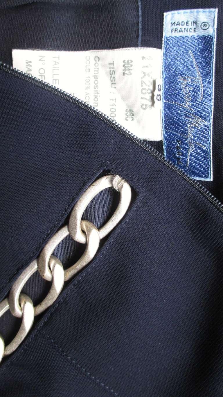 Thierry Mugler Chain Detail Dress 10