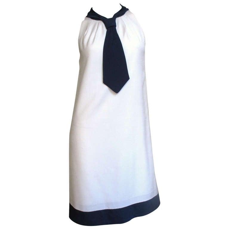1960's Pierre Cardin Colorblock Dress 1
