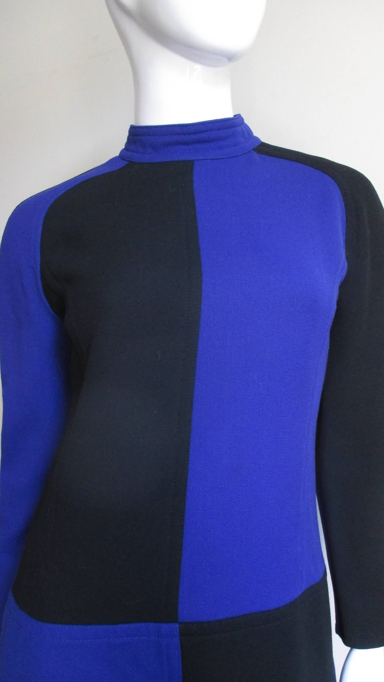 Vintage Courreges Color Block Dress 3