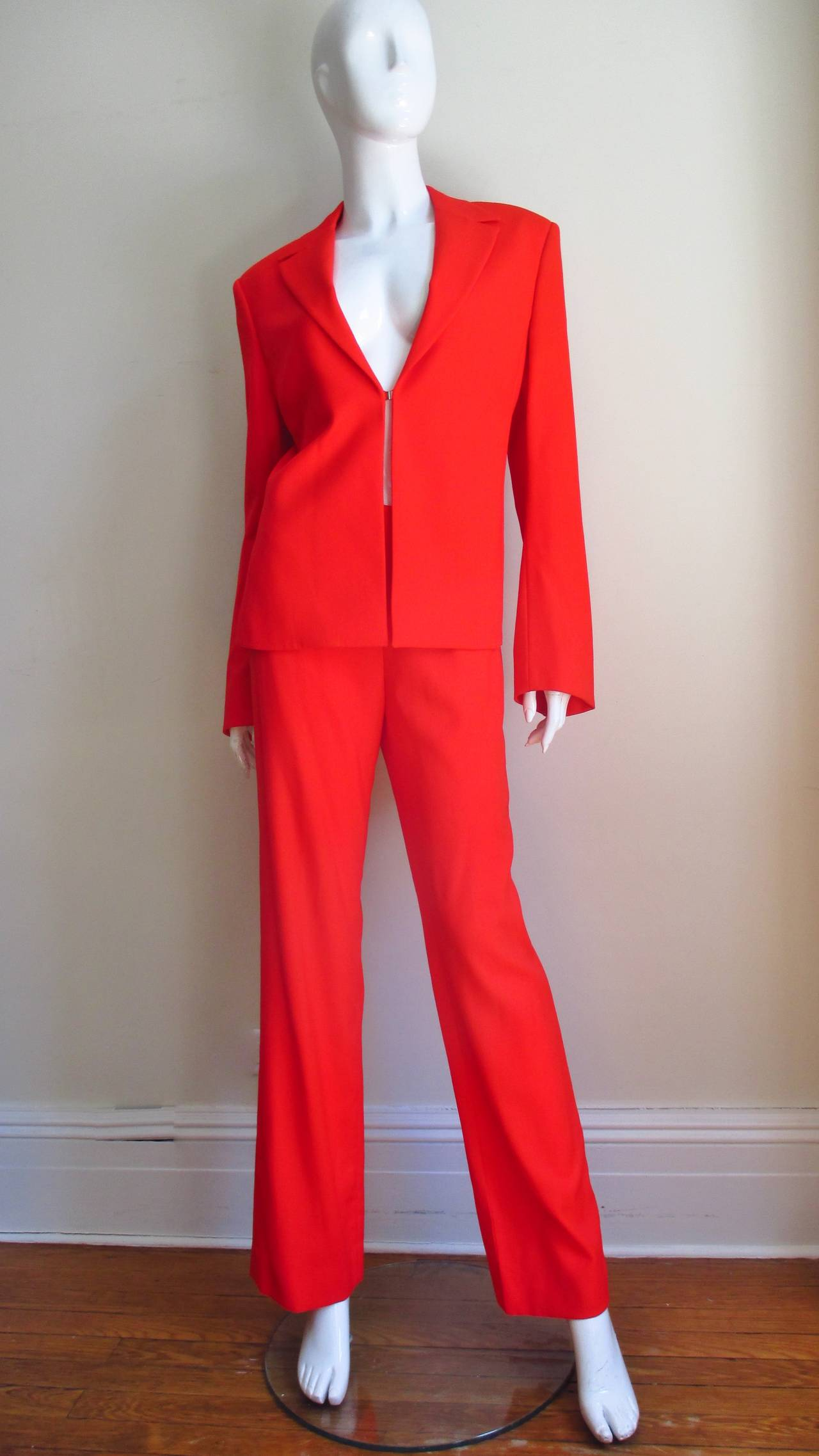 1990's Gianni Versace Couture Suit 6