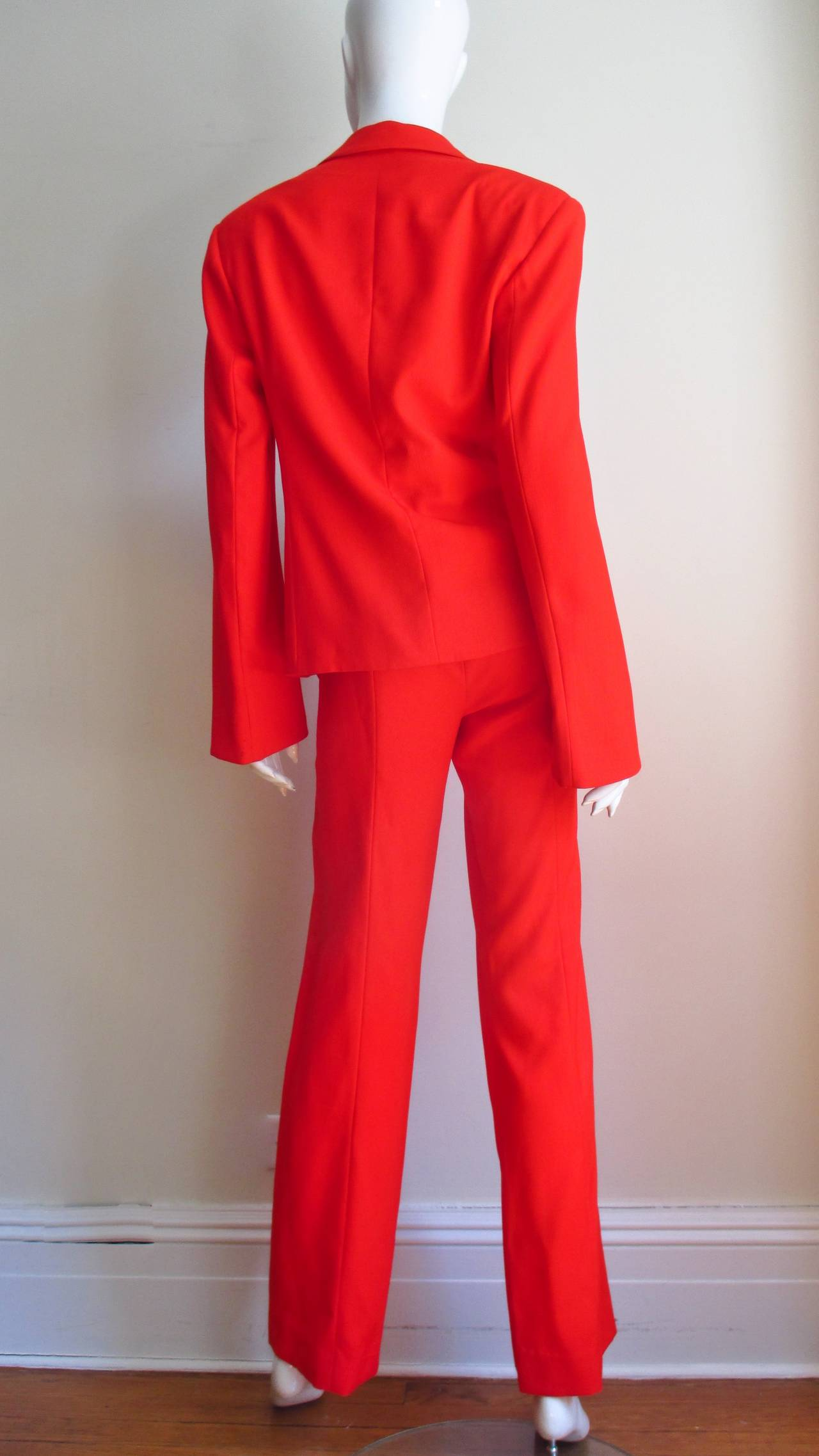 1990's Gianni Versace Couture Suit 8