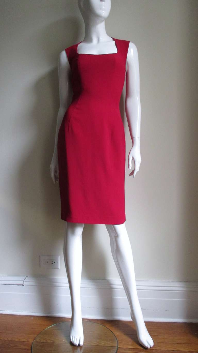 Women's 1980s Sophie Stibon Cutout Cross and Circle Dress For Sale