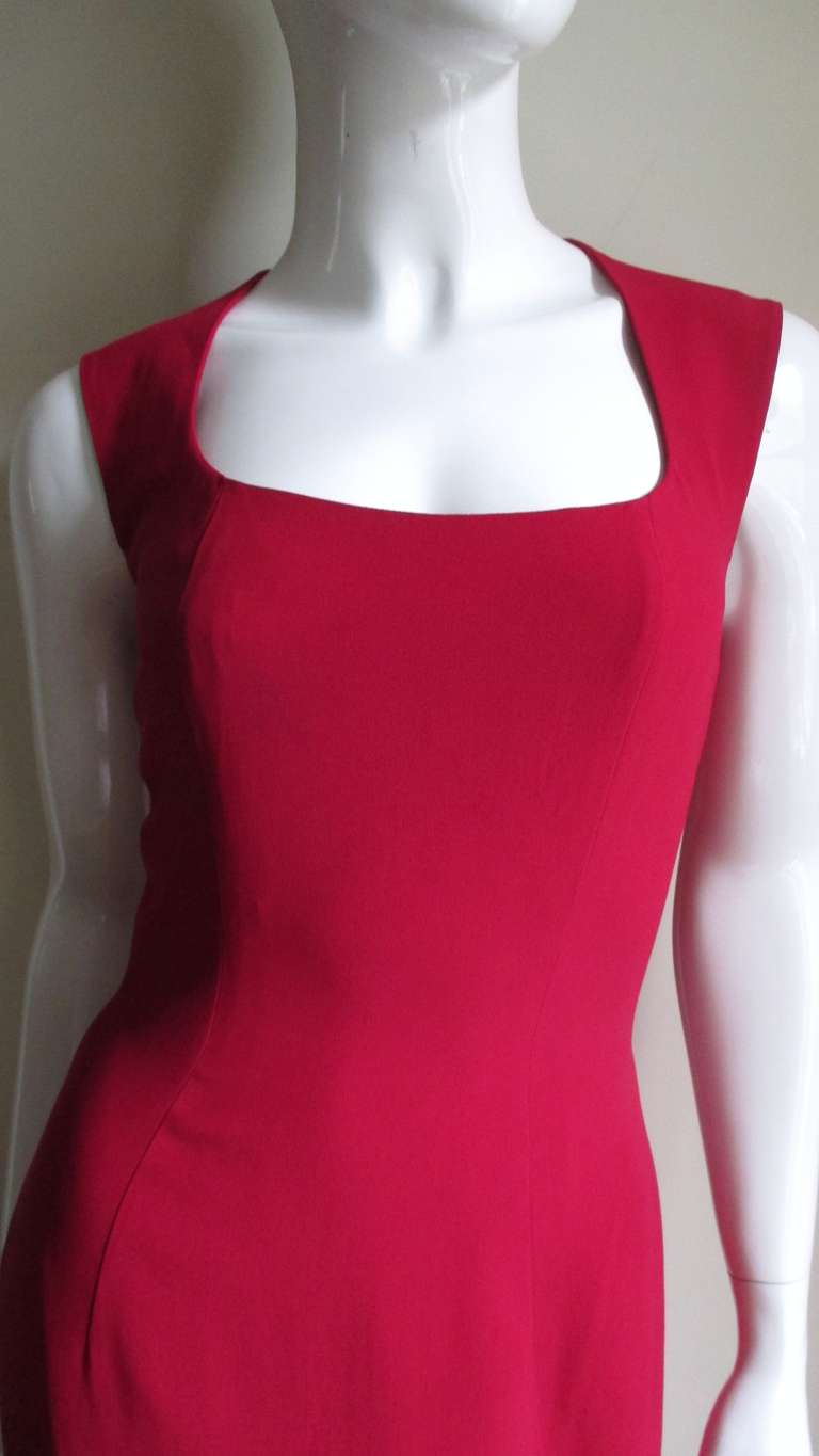 1980s Sophie Stibon Cutout Cross and Circle Dress In Good Condition For Sale In New York, NY