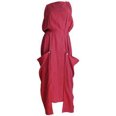 Vintage Beretta Linen Slouch Dress