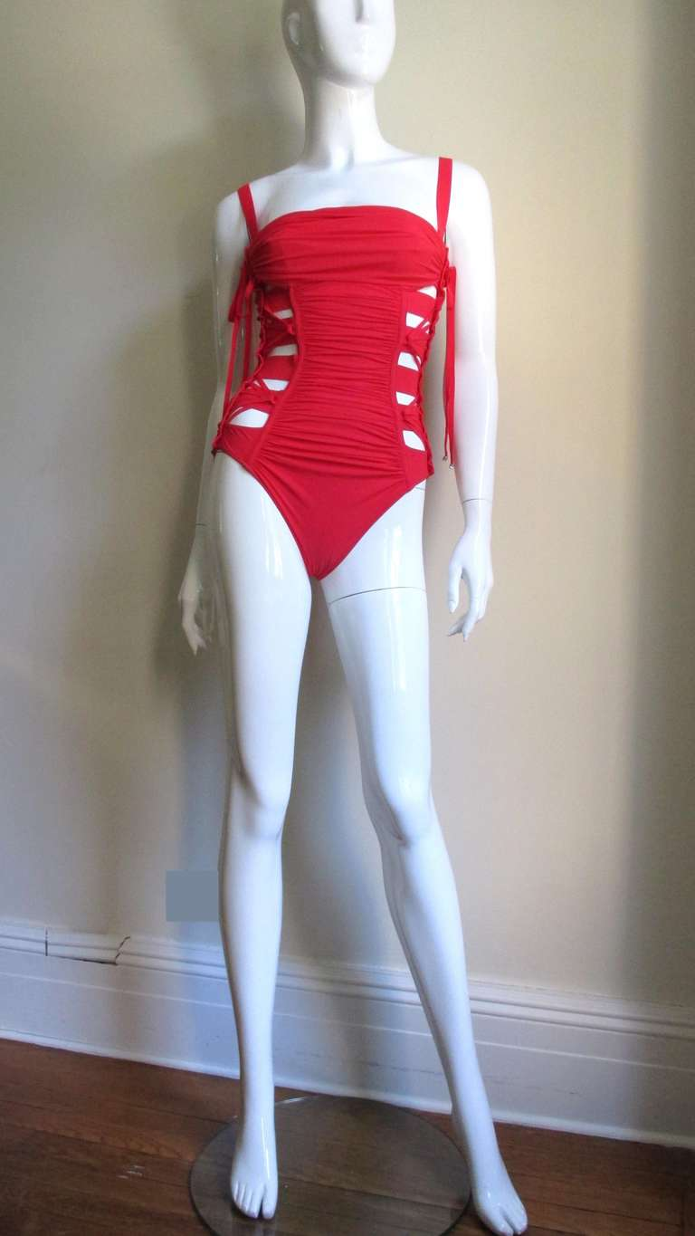 Gaultier Bondage Swimsuit New With Tags 6