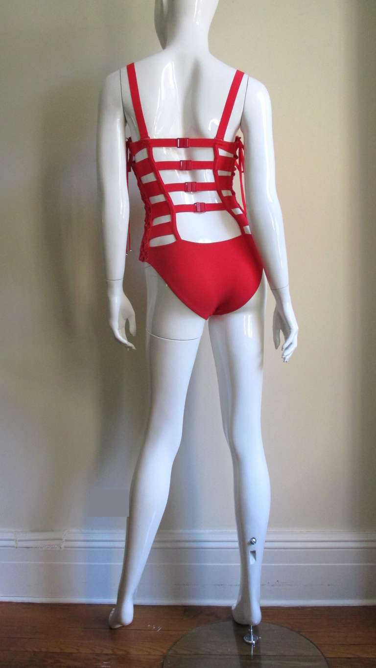 Gaultier Bondage Swimsuit New With Tags 9