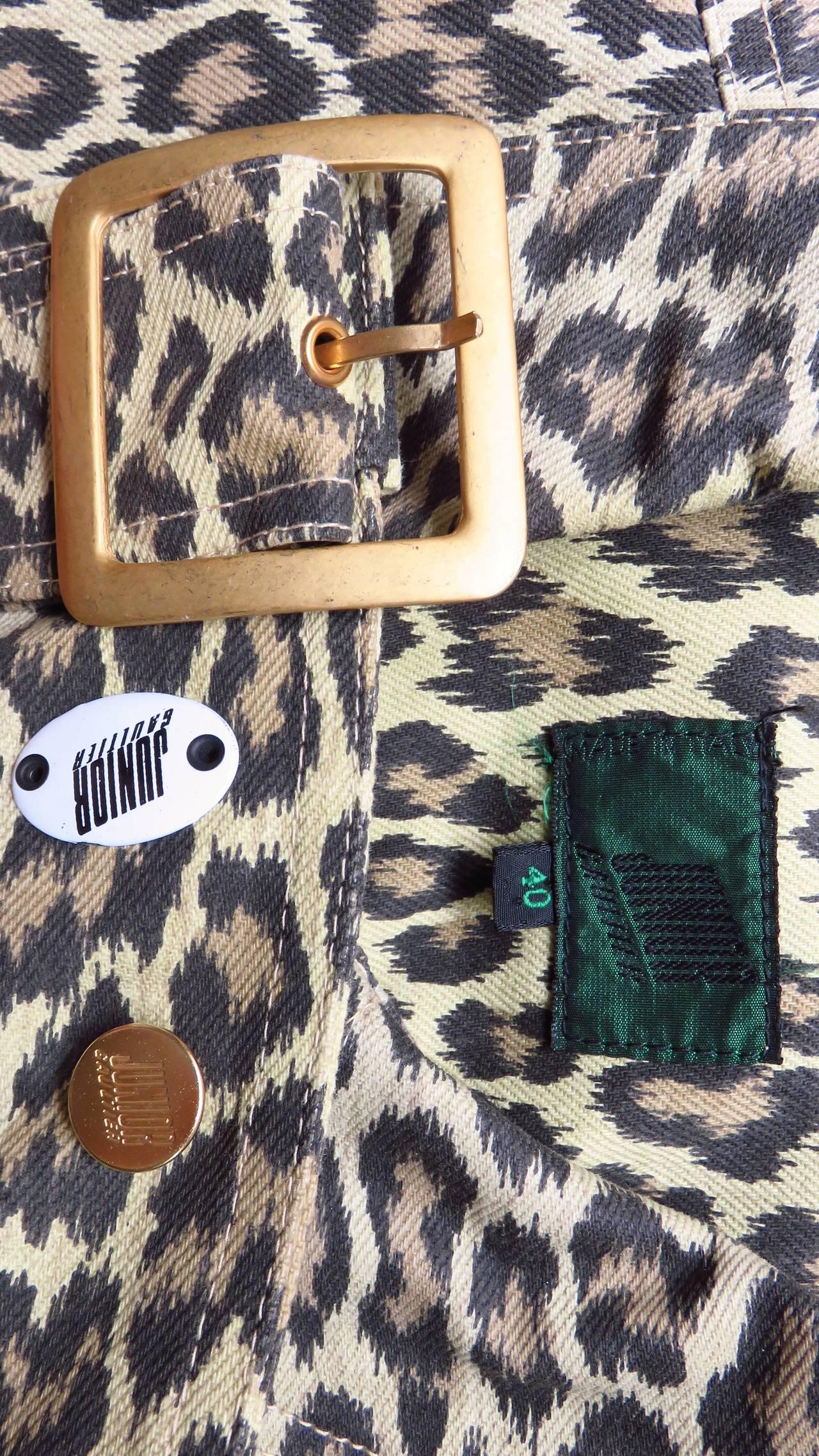 Jean Paul Gaultier New Hourglass Jacket 1980s For Sale 8