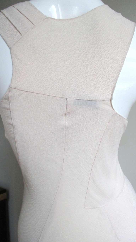 Christian Dior Blush Seam Detail Silk Gown 6