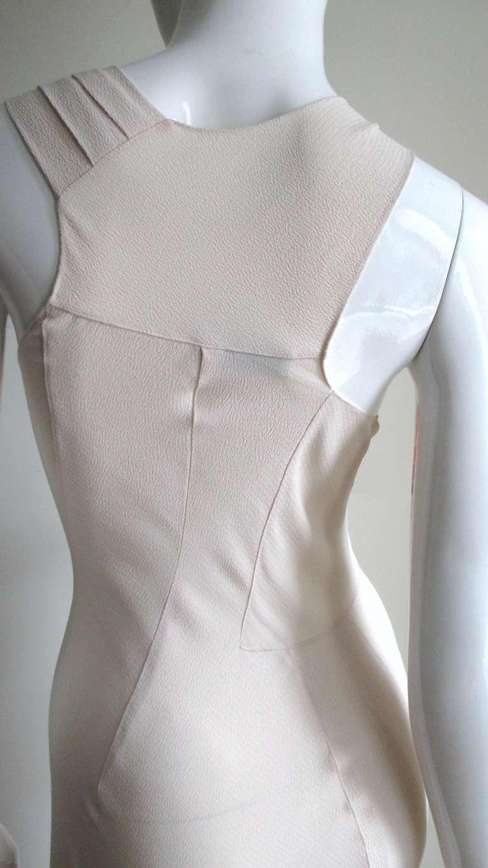 Christian Dior Blush Seam Detail Silk Gown 7