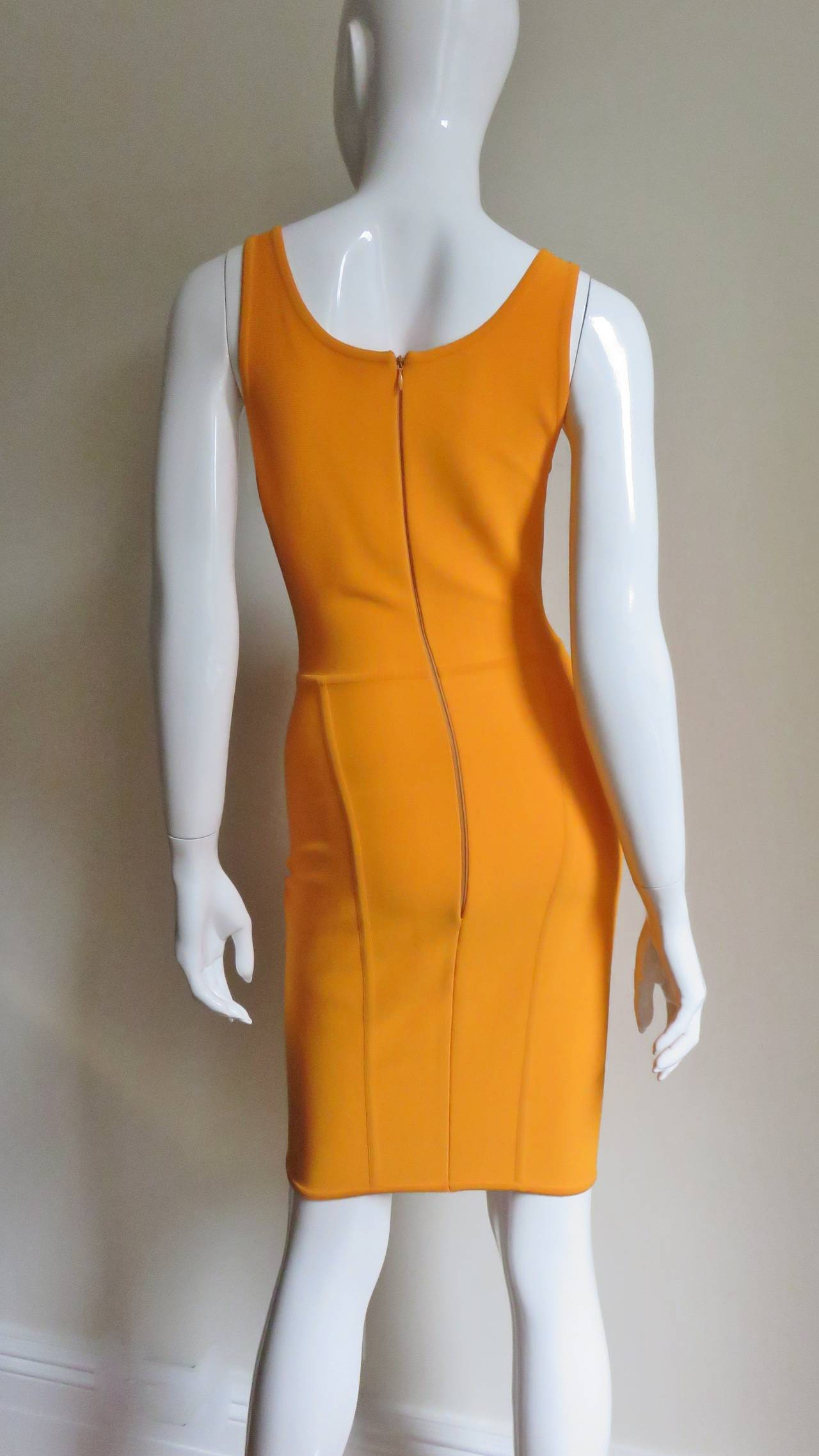 Vintage Herve Leger Bodycon Dress For Sale 1