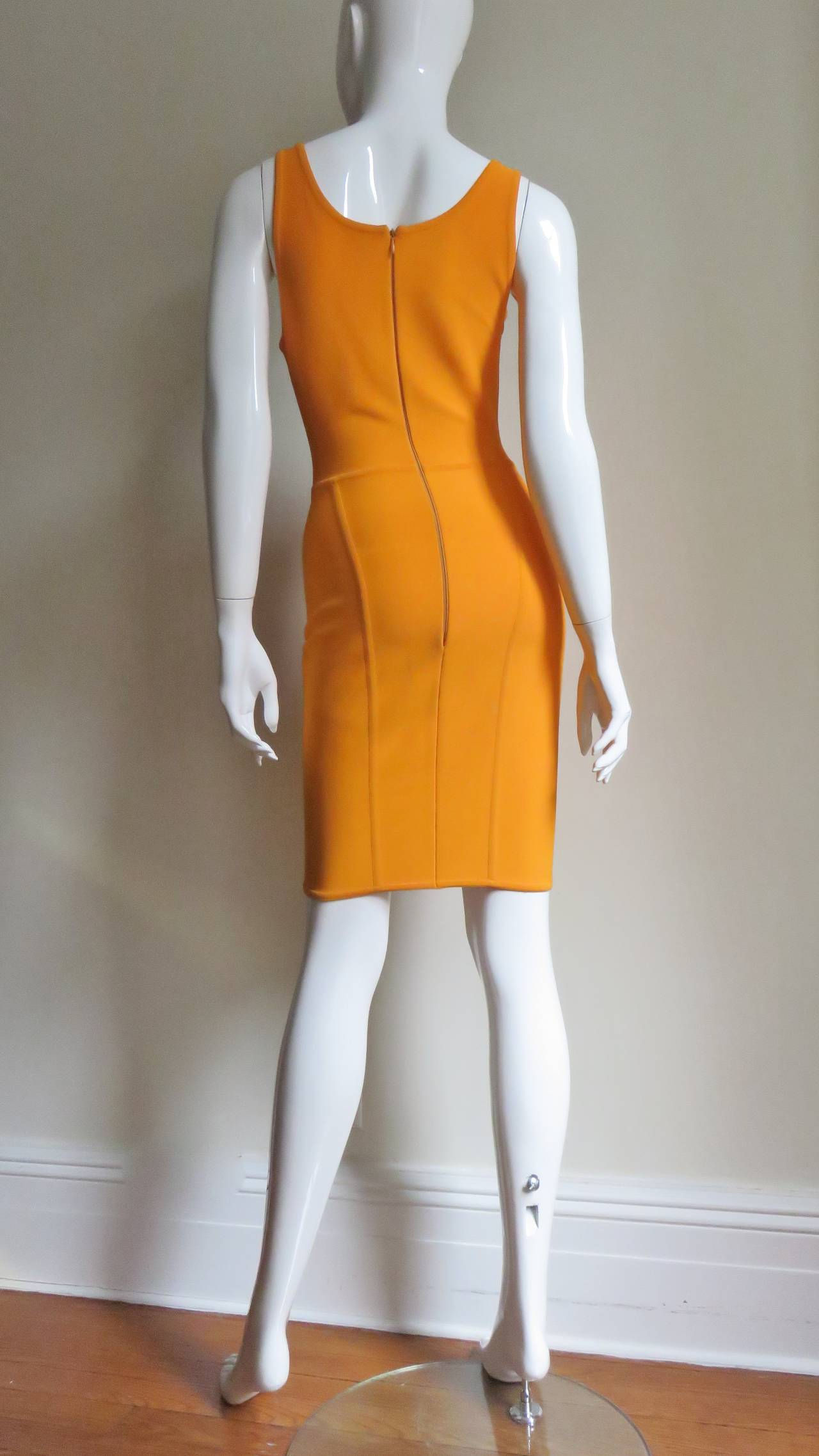 Vintage Herve Leger Bodycon Dress For Sale 4