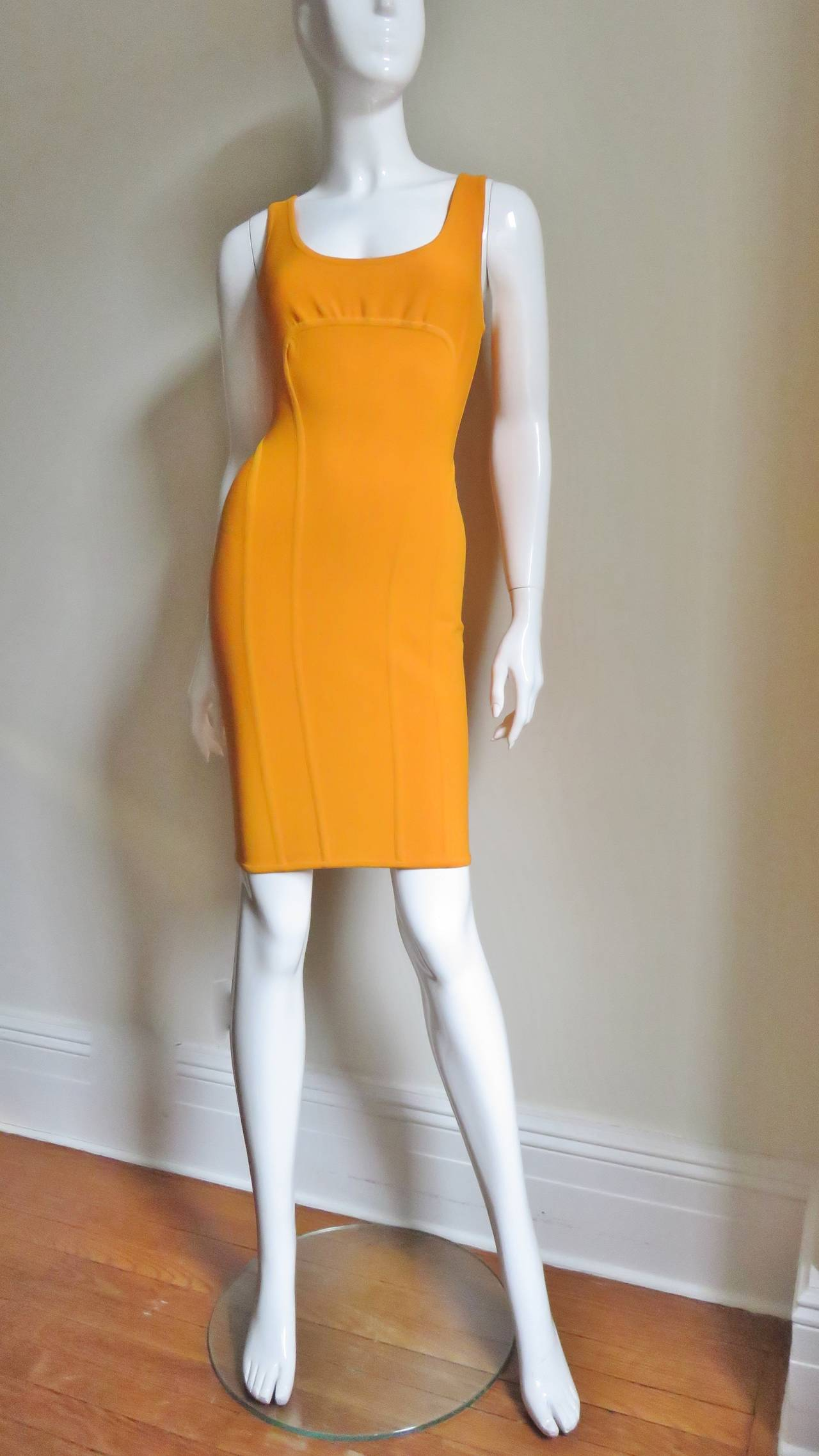Women's Vintage Herve Leger Bodycon Dress For Sale