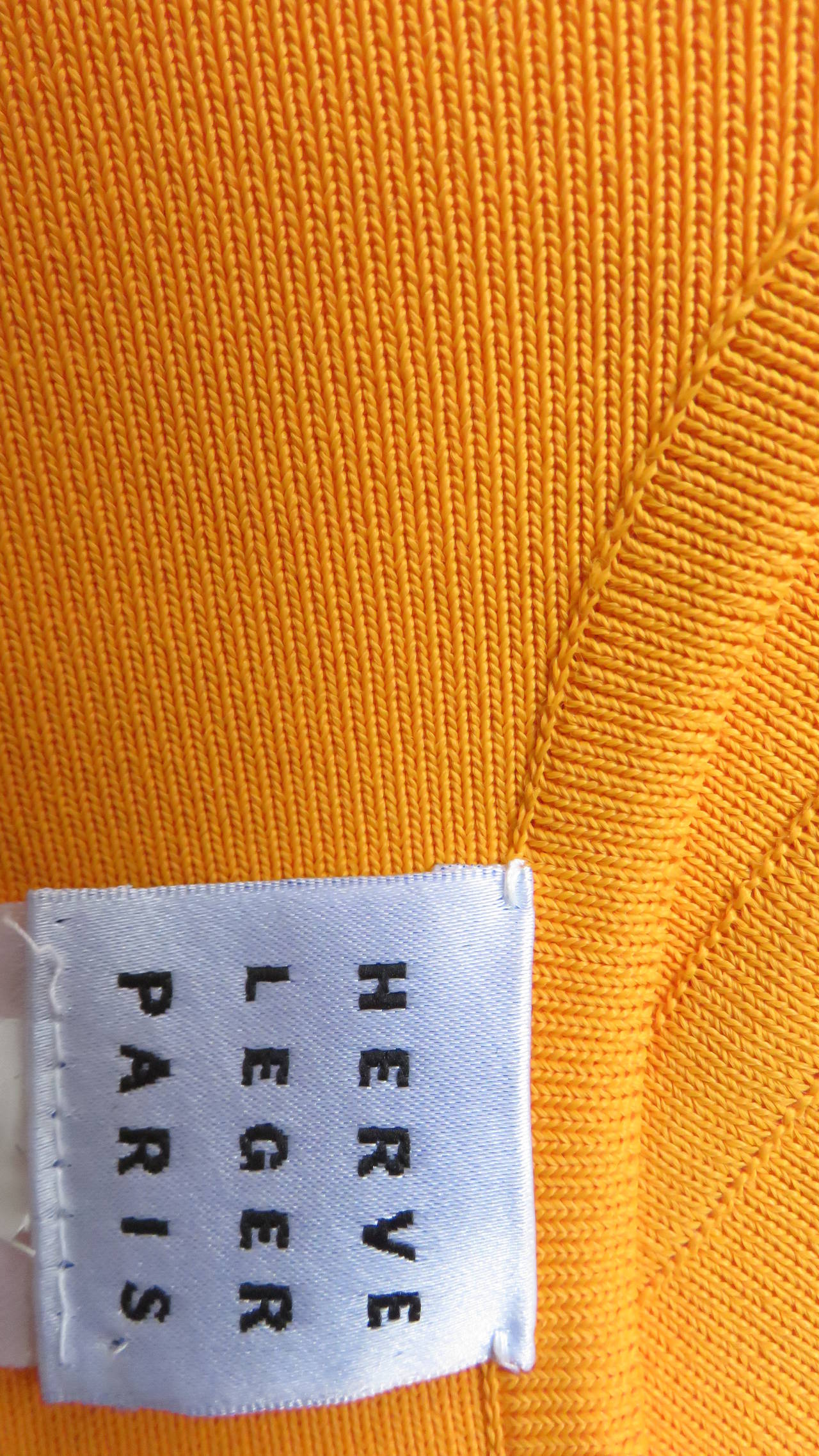 Vintage Herve Leger Bodycon Dress For Sale 5