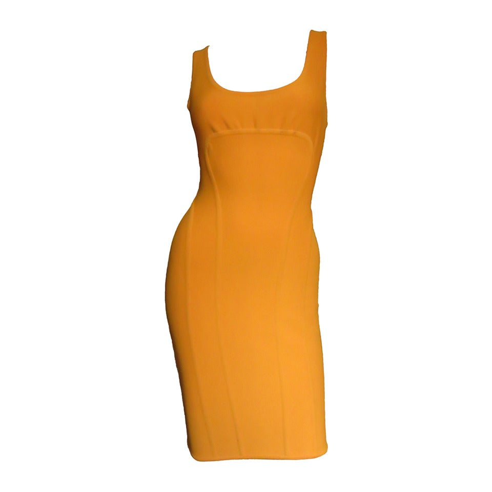 Vintage Herve Leger Bodycon Dress For Sale