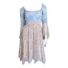 Lolita Lempicka Silk & Lace Dress