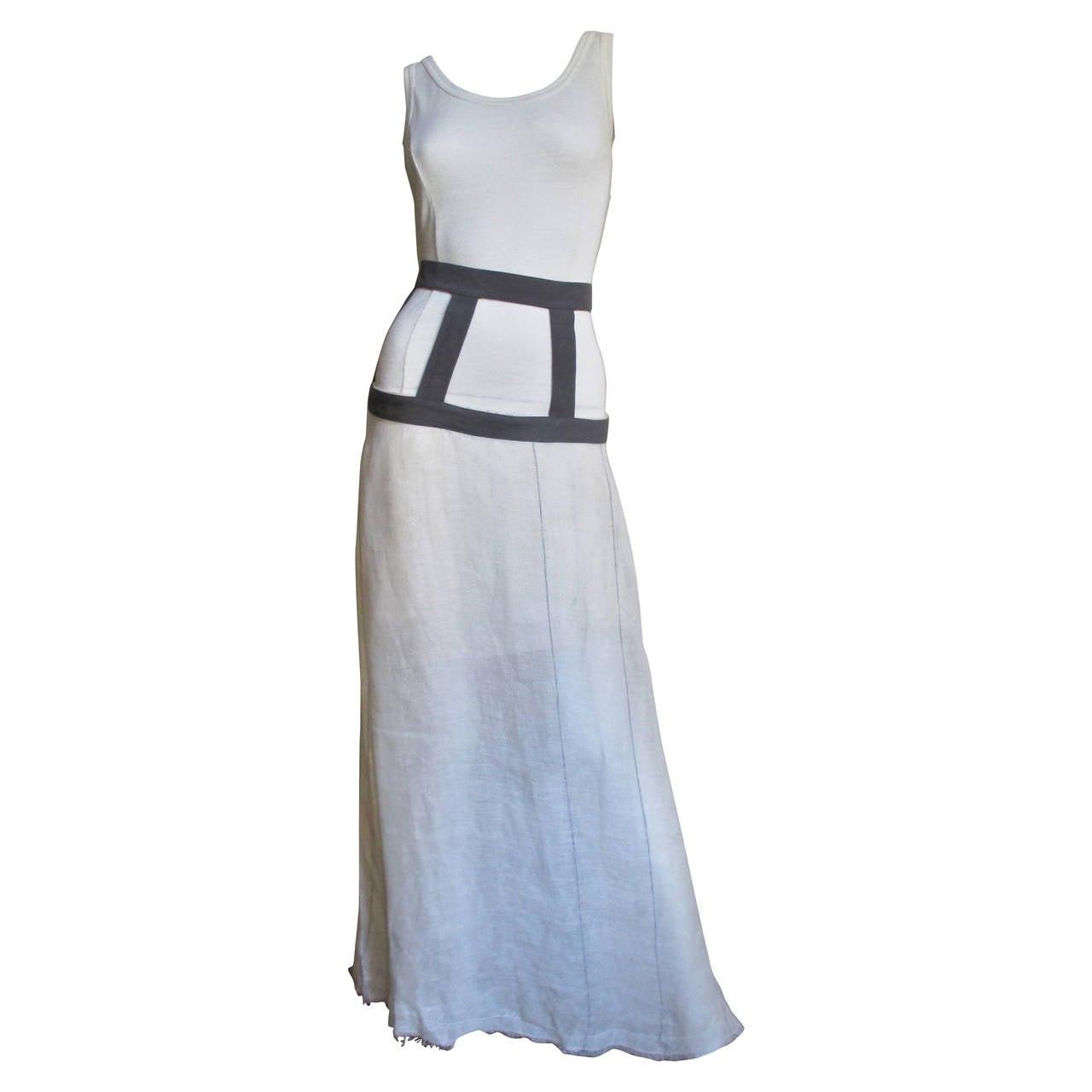 1990s Mini Dress & Cage Yoke Maxi Skirt