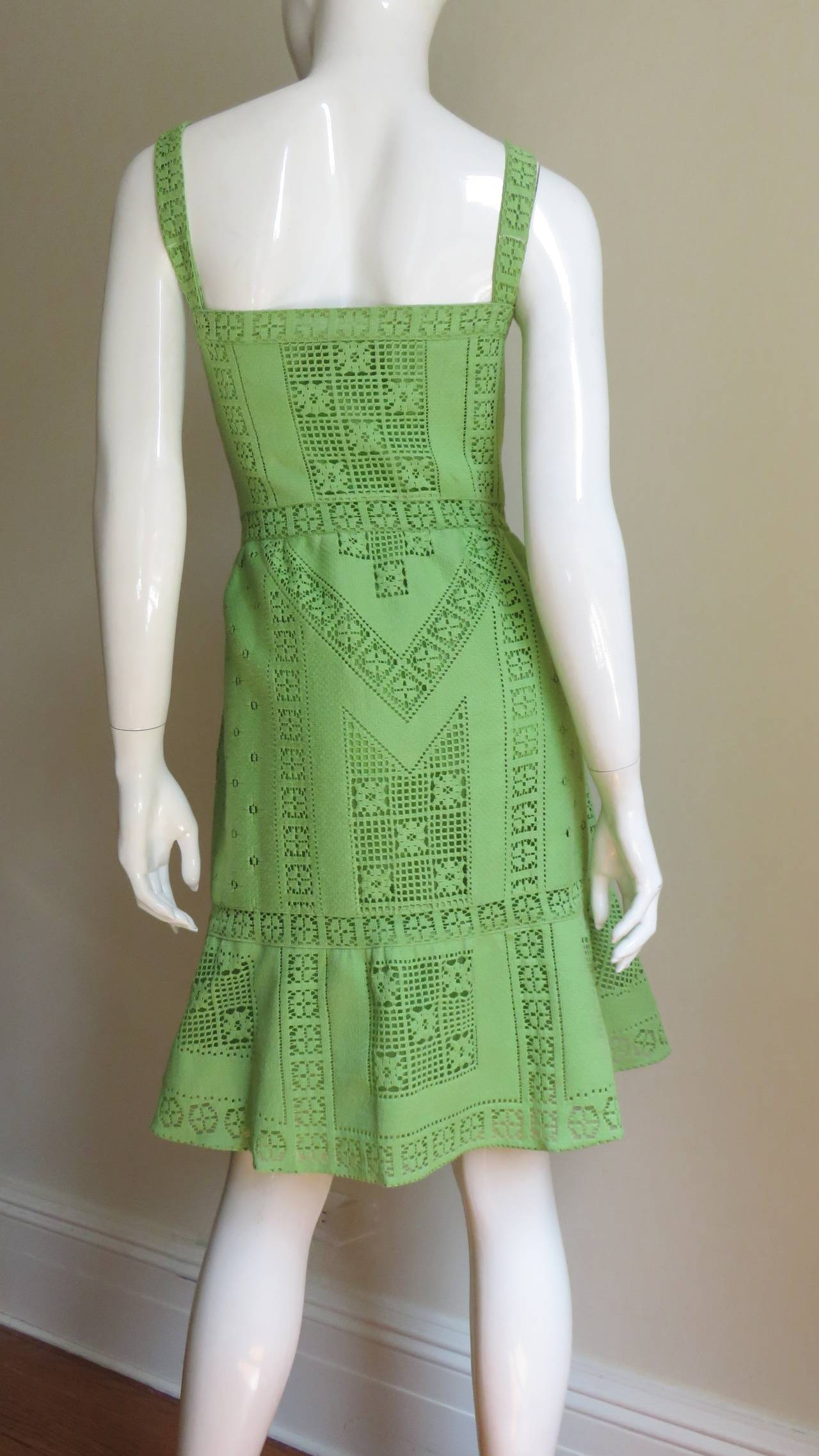 Fabulous Valentino Guipure Lace Dress 6