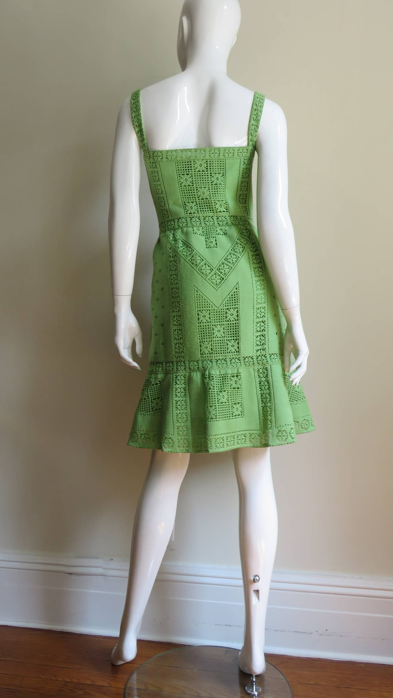 Fabulous Valentino Guipure Lace Dress 8
