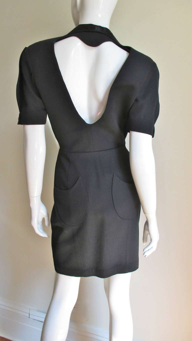 Thierry Mugler Business in the Front - Heart Cutout in the Back Dress 2