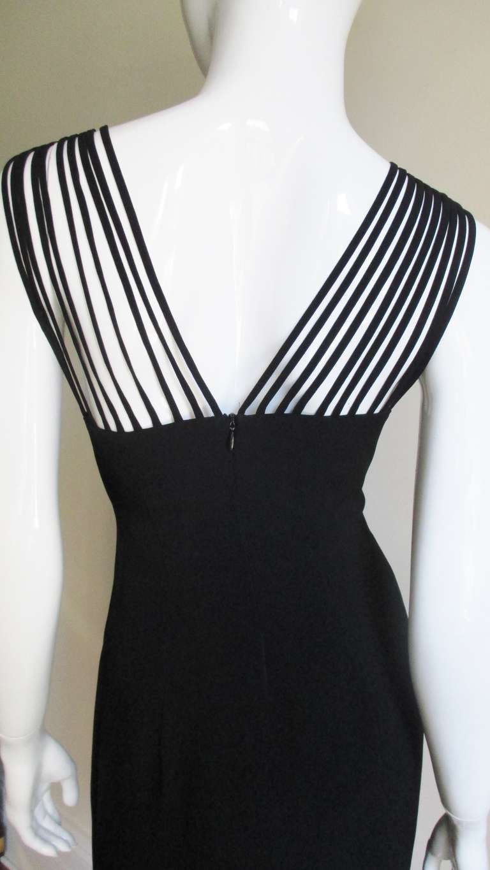 Sophie Sitbon Cage Shoulders Dress For Sale 3