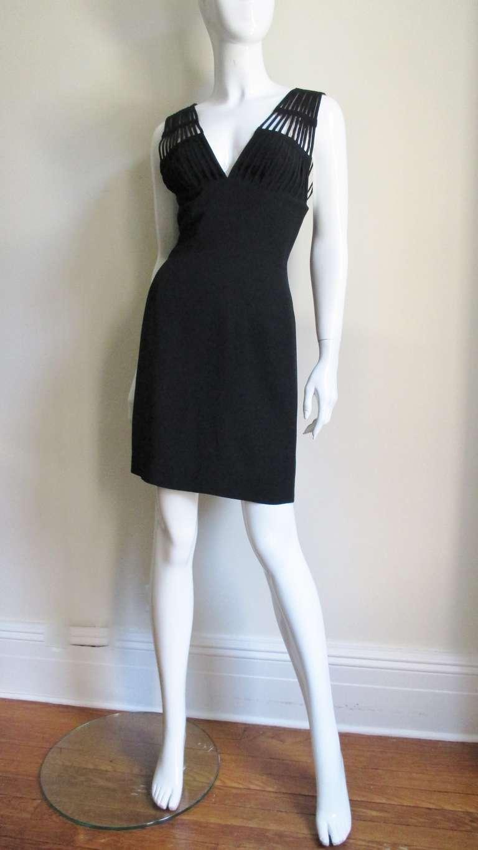 Sophie Sitbon Cage Shoulders Dress For Sale 1