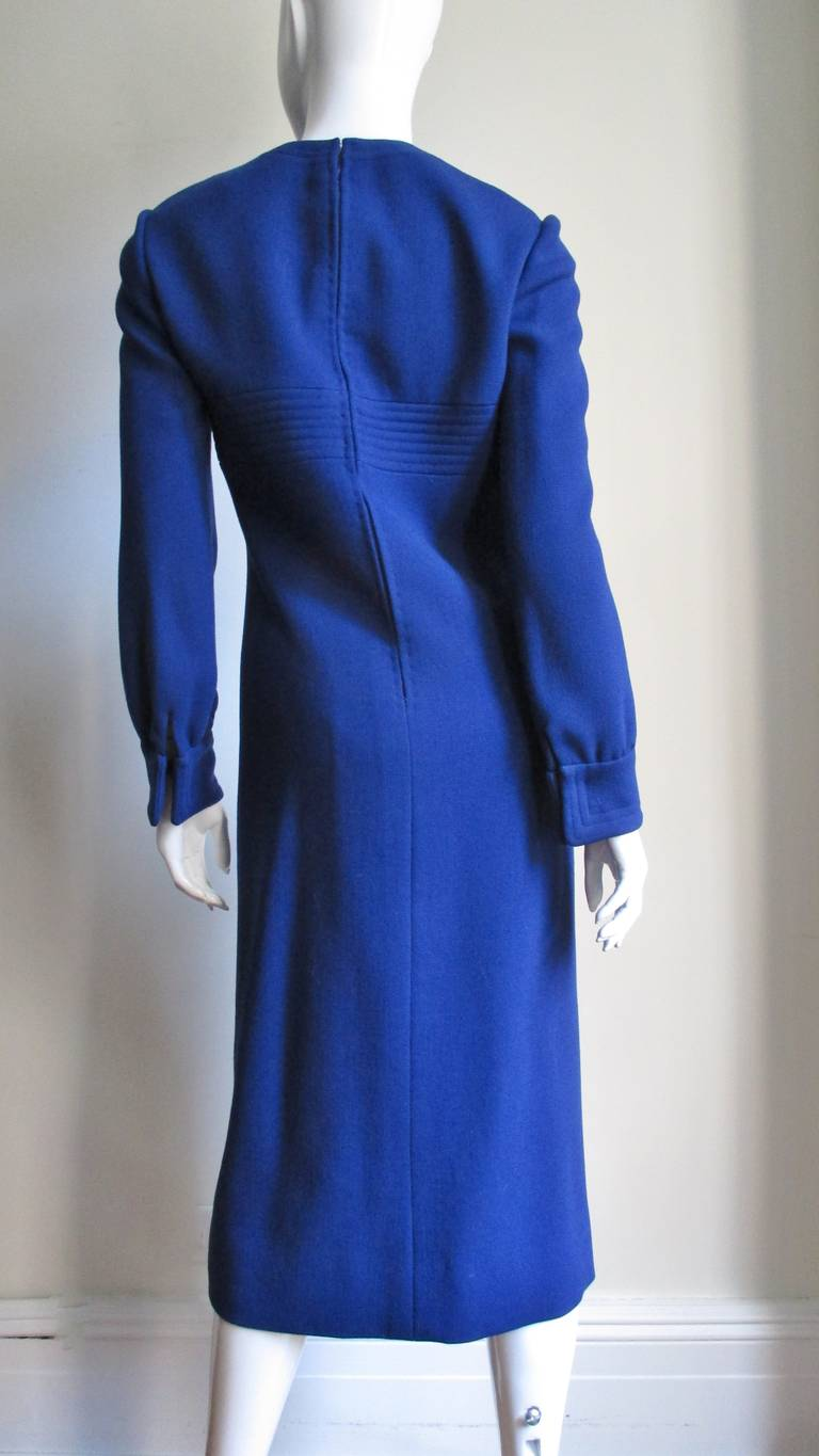 1960's Pierre Cardin Dress With Trapunto Embroidery 7
