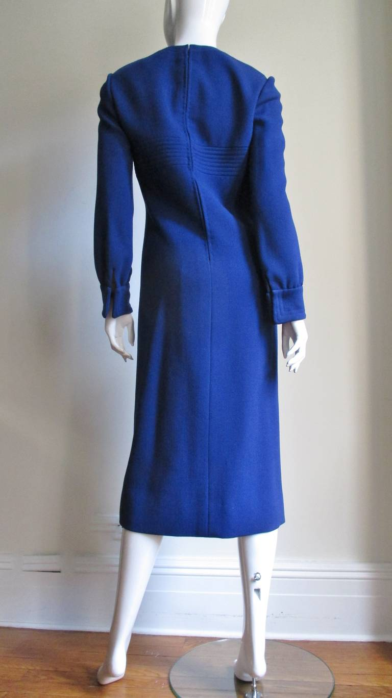 1960's Pierre Cardin Dress With Trapunto Embroidery 9