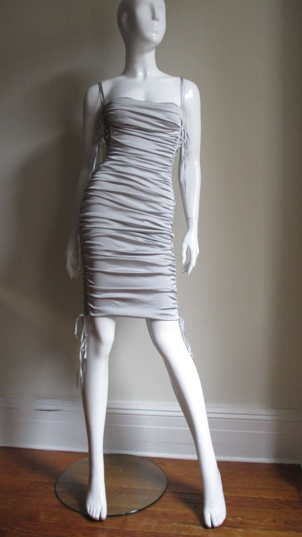 Dolce & Gabbana Side Lace-up Bra Dress For Sale 2