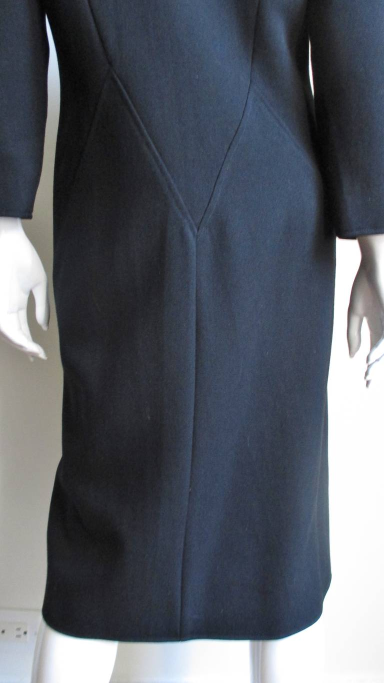 1970S Courreges Dress with Seaming For Sale 3