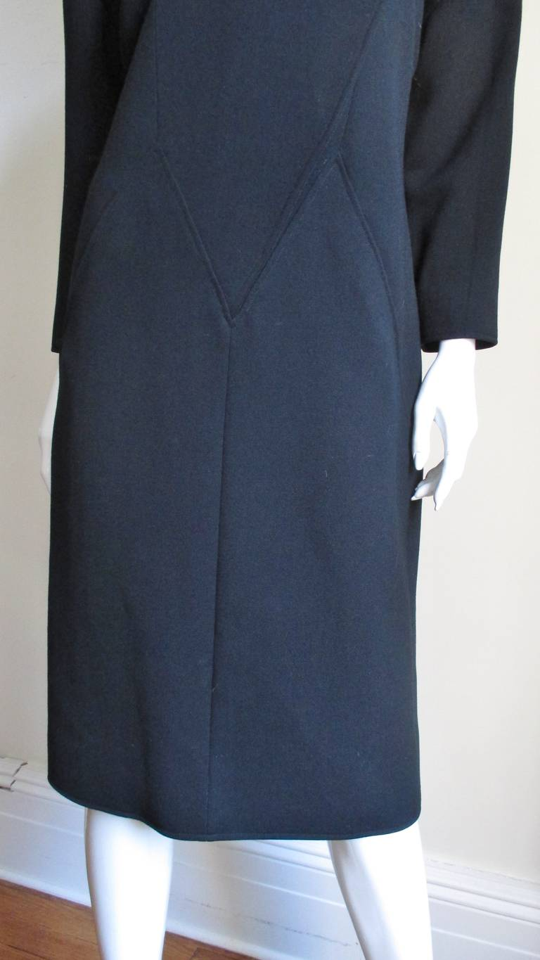 1970S Courreges Dress with Seaming In Excellent Condition For Sale In New York, NY