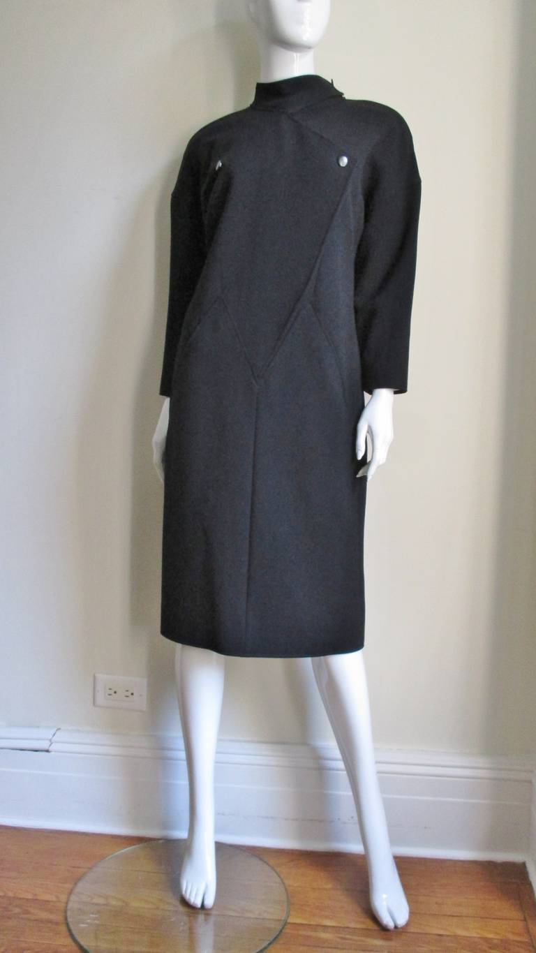 Women's 1970S Courreges Dress with Seaming For Sale
