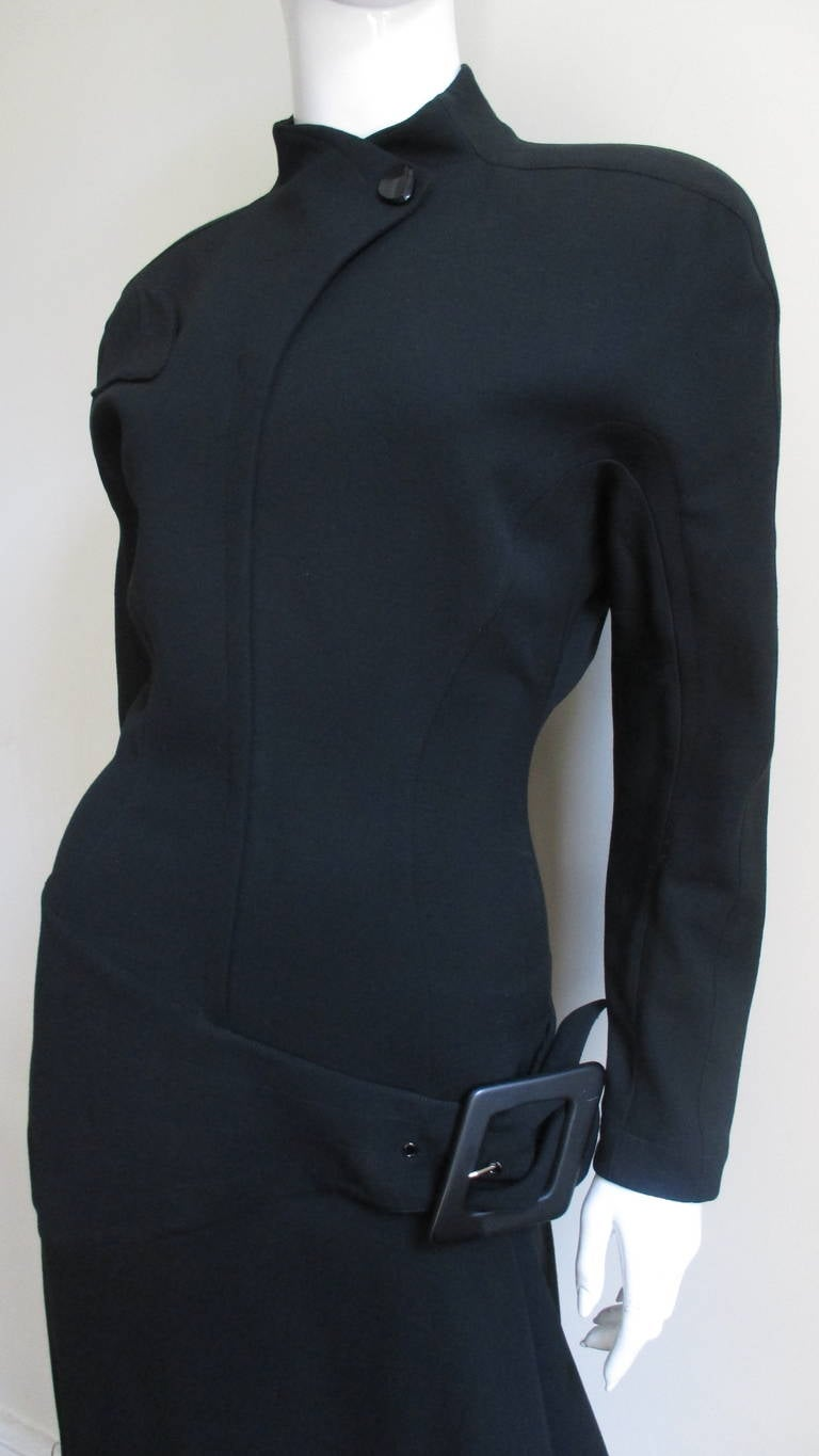 Thierry Mugler Asymmetical Hem Dress 2