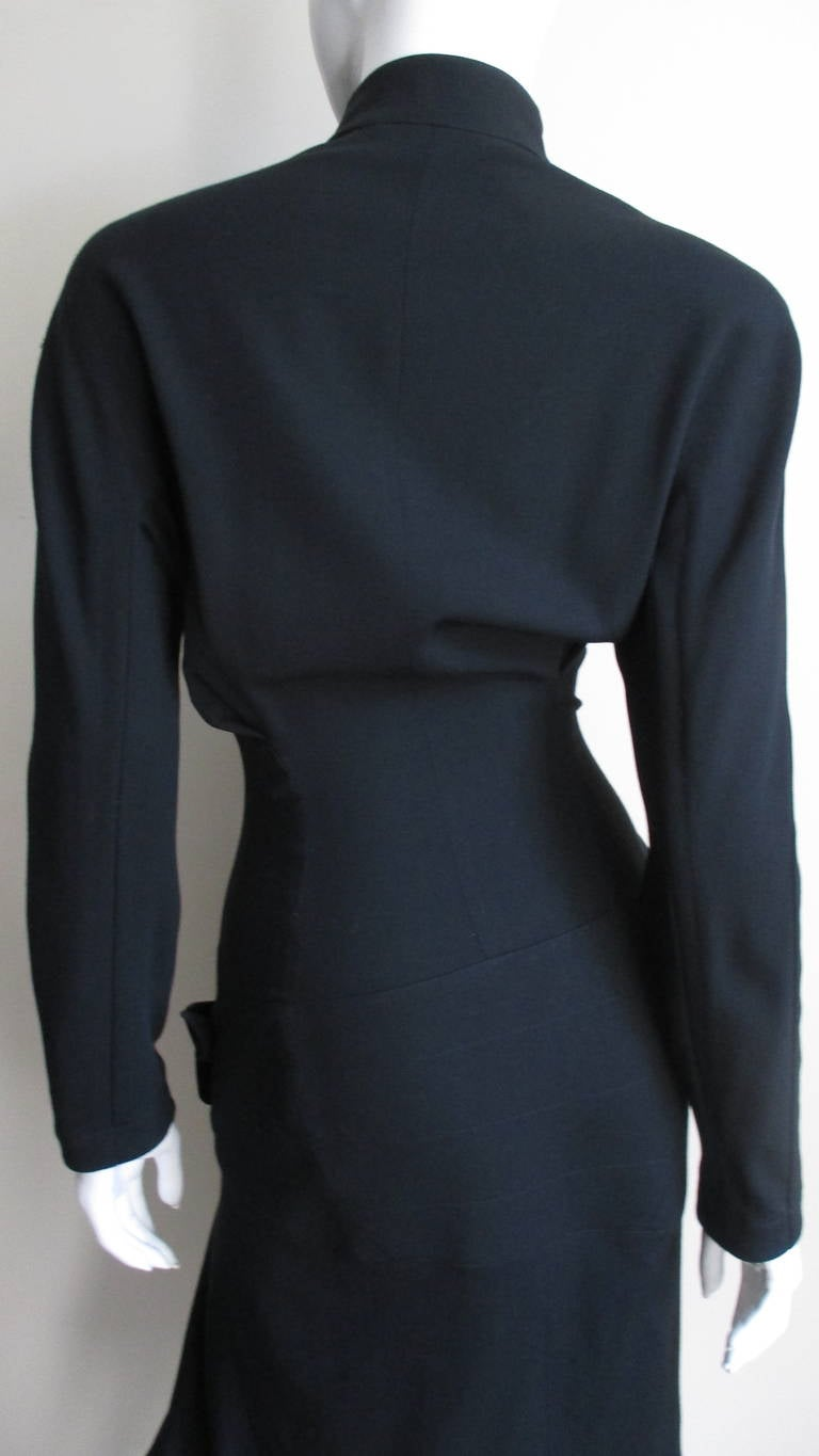 Thierry Mugler Asymmetical Hem Dress 7