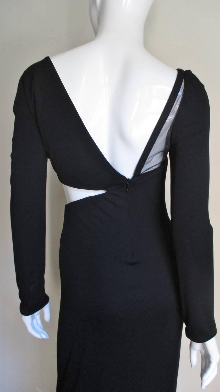 Gianni Versace Mesh & Hardware Cutout Dress 6