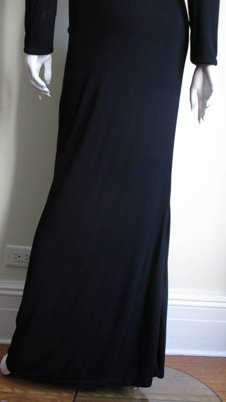 Gianni Versace Mesh & Hardware Cutout Dress 8