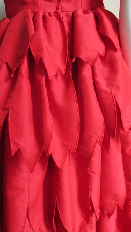 Vintage Travilla ' Flames ' Gown 8