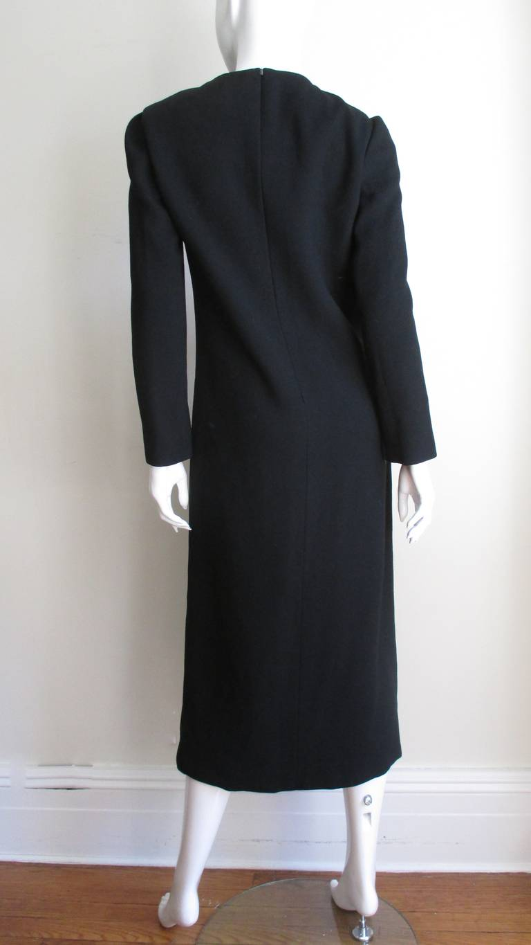 1970s Pierre Cardin Space Age Cutout Midi Dress 5