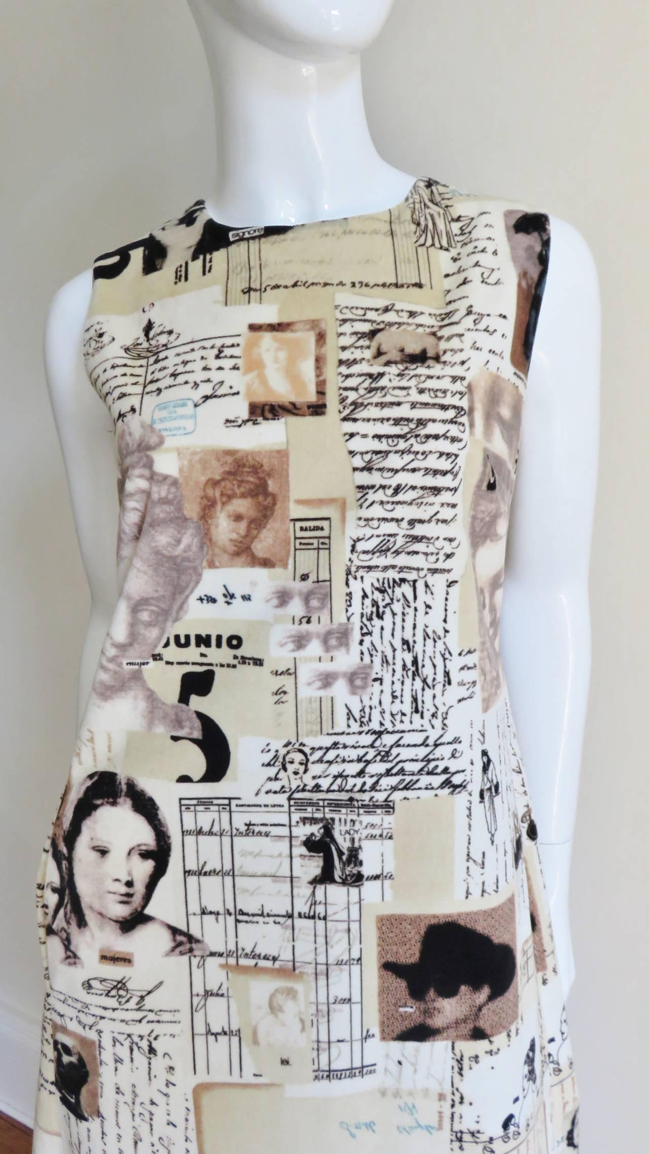 Moschino Photo Screen Print Dress 2