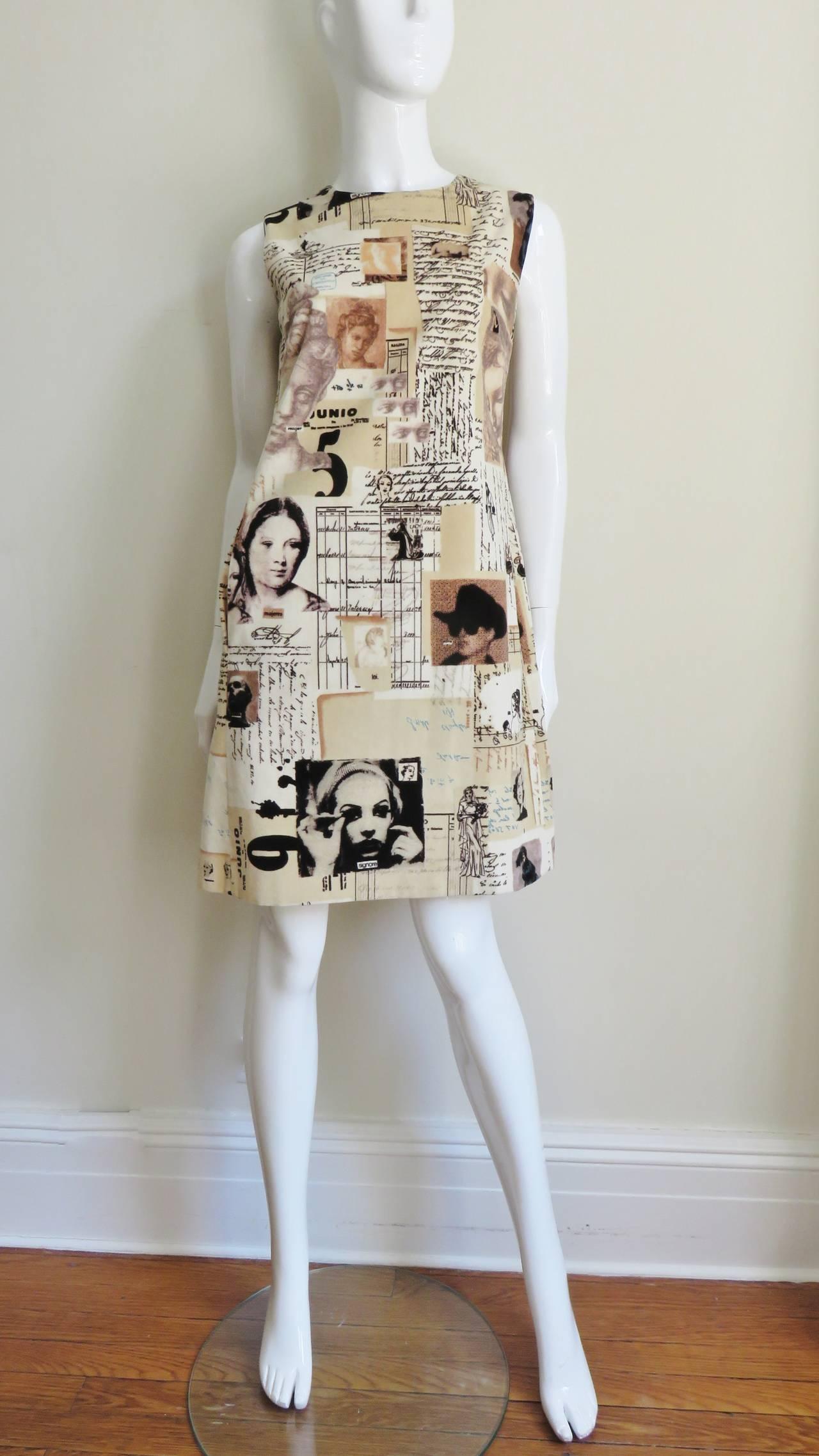 Moschino Photo Screen Print Dress 5