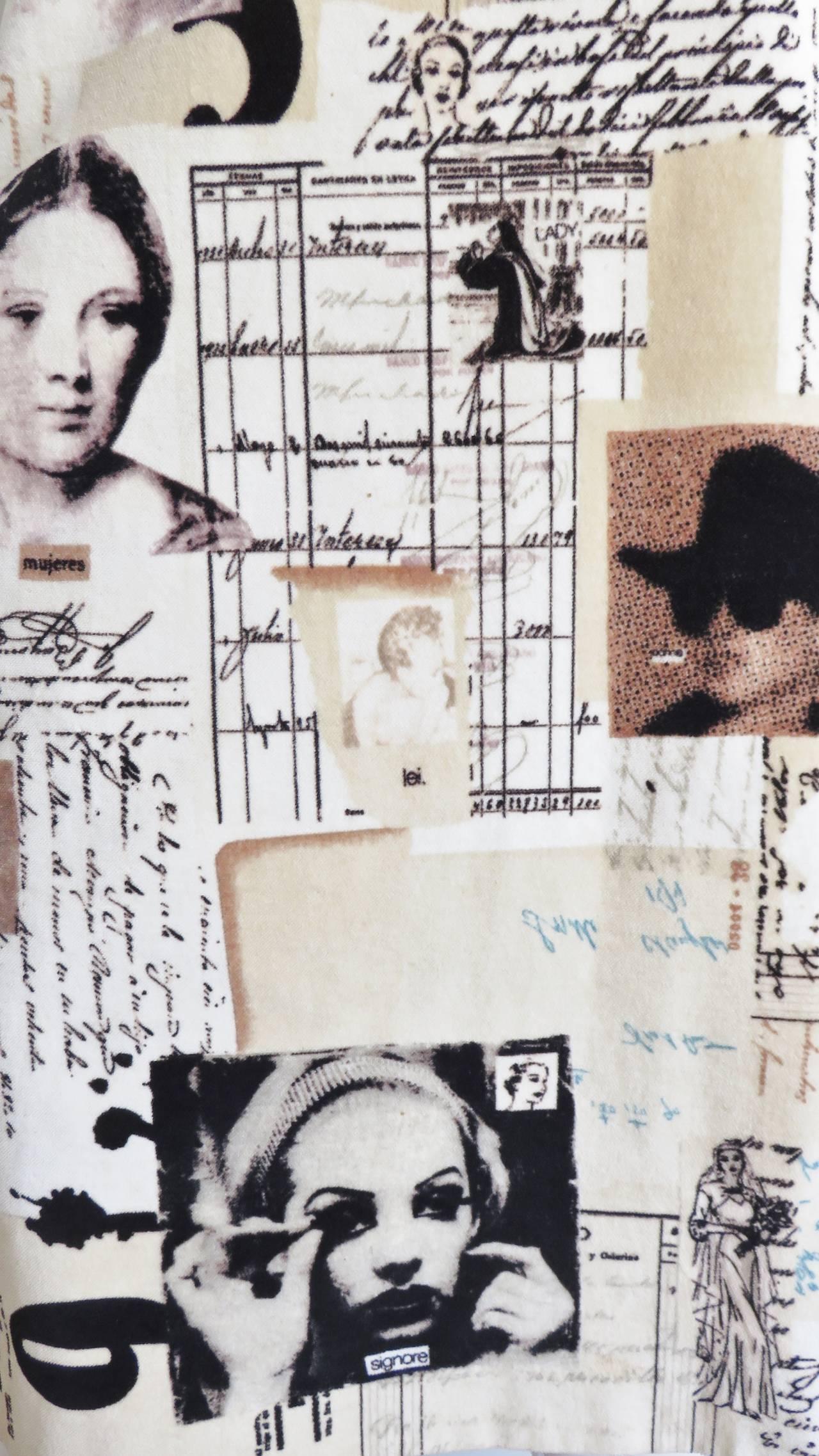 Moschino Photo Screen Print Dress 3
