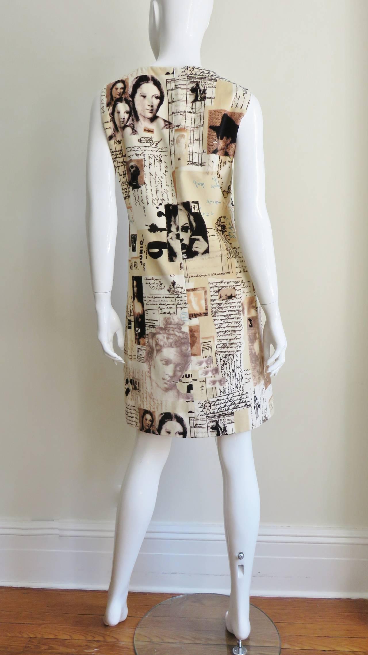 Moschino Photo Screen Print Dress 9