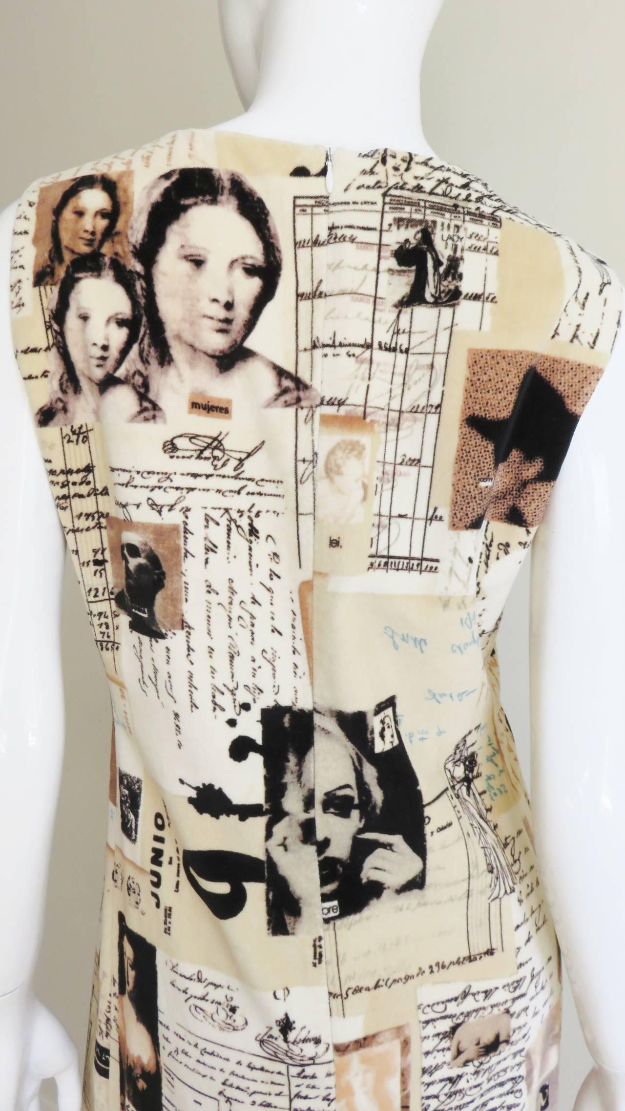 Moschino Photo Screen Print Dress 7