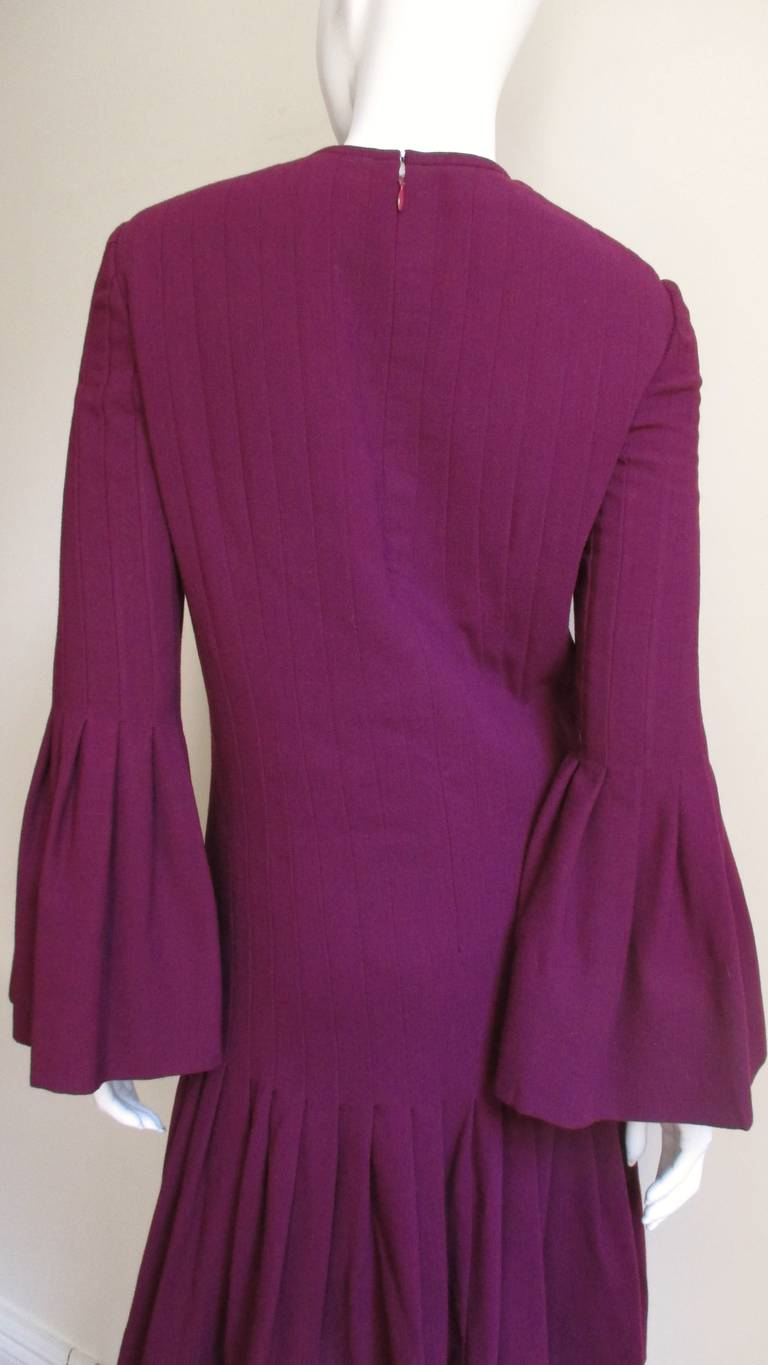 Pierre Cardin 1960's Seamed Dress 7