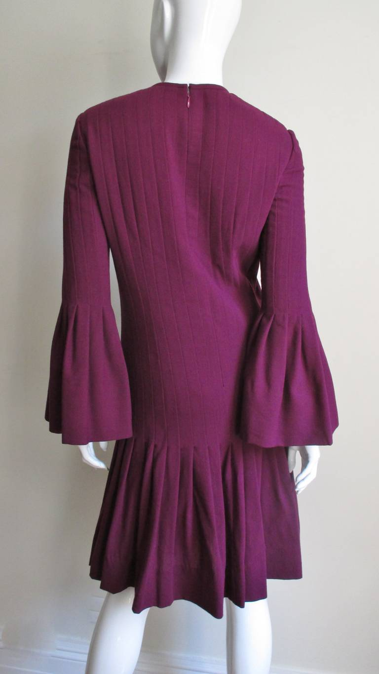 Pierre Cardin 1960's Seamed Dress 6