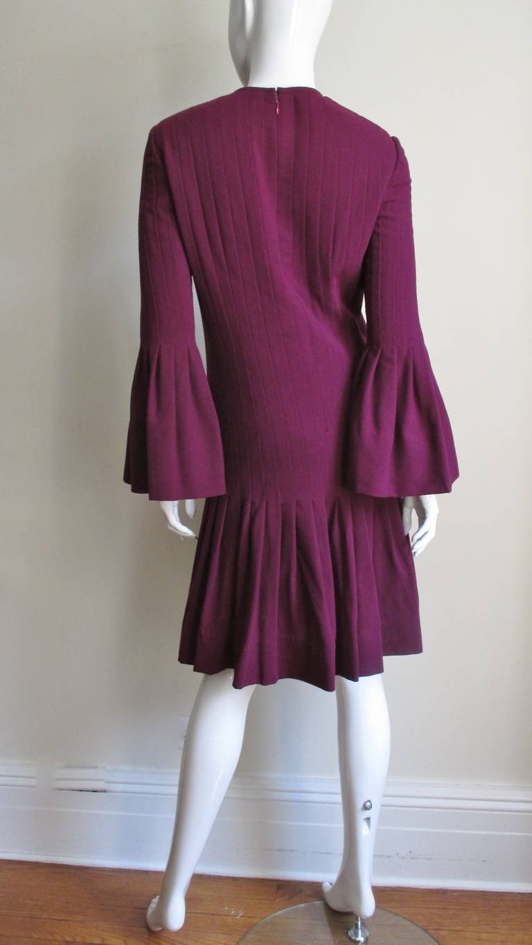 Pierre Cardin 1960's Seamed Dress 9
