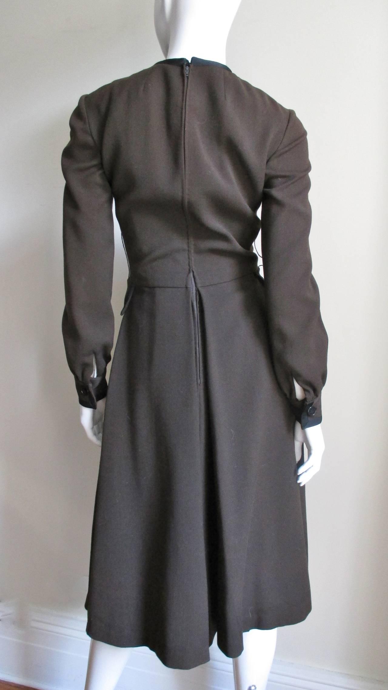Iconic Geoffrey Beene 1970's Dress 6