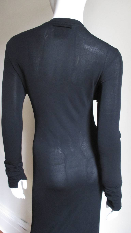 1990s Jean Paul Gaultier Maxi Dress For Sale 2
