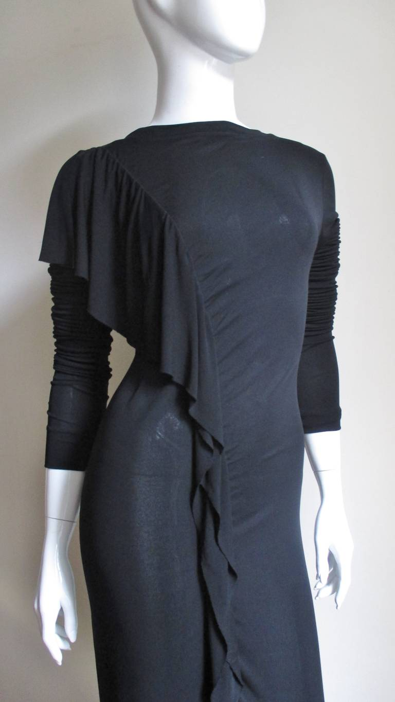 1990s Jean Paul Gaultier Maxi Dress In New never worn Condition For Sale In New York, NY