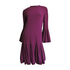 1960s Pierre Cardin Seamed Dress