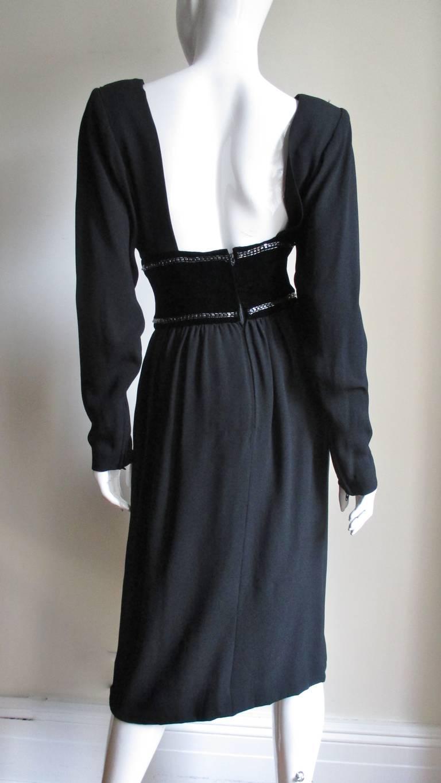 Vintage Bob Mackie Trompe L'oeil Belt Dress 5